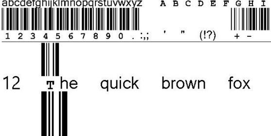 30 Best Font Barcode Download Free - CIA Code 39 Medium Text