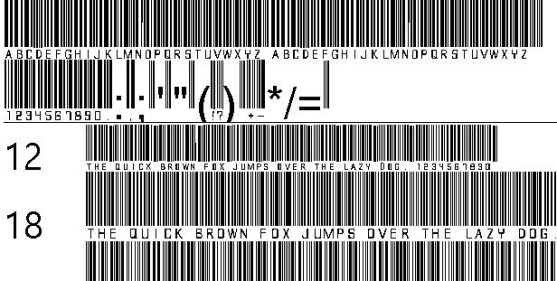 30 Best Font Barcode Download Free - barcode font (TrueType)