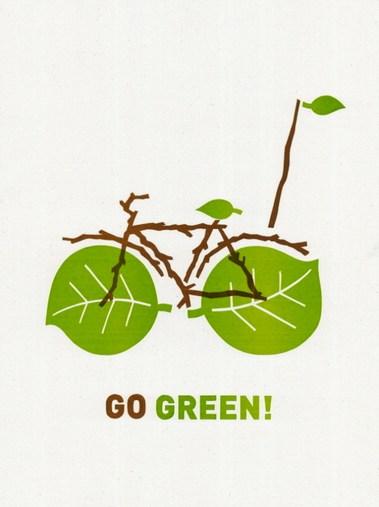 33 Contoh Poster Adiwiyata Go Green Lingkungan Hidup Hijau - 2011-poster-cabaret-bike-print-set-giveaway