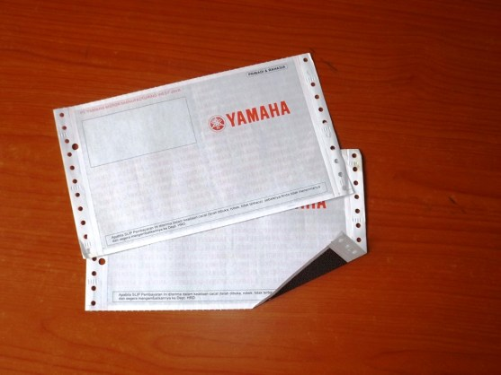 Continuous Form Surat Jalan Invoice dan Slip Gaji - Continuous Form Paper Percetakan Ayu DSCF2370