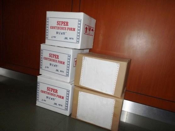 Continuous Form Surat Jalan Invoice dan Slip Gaji - Continuous Form Paper Percetakan Ayu DSCF2373