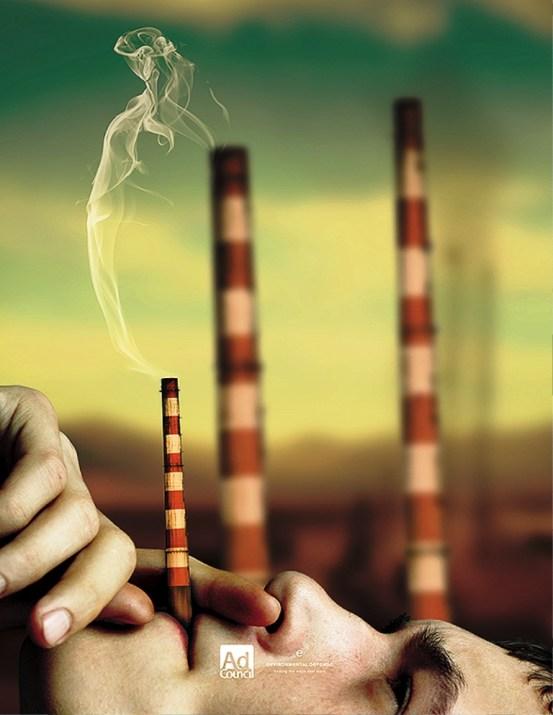 33 Contoh Poster Adiwiyata Go Green Lingkungan Hidup Hijau - Fight-Global-Warming-Poster-1b-100726523
