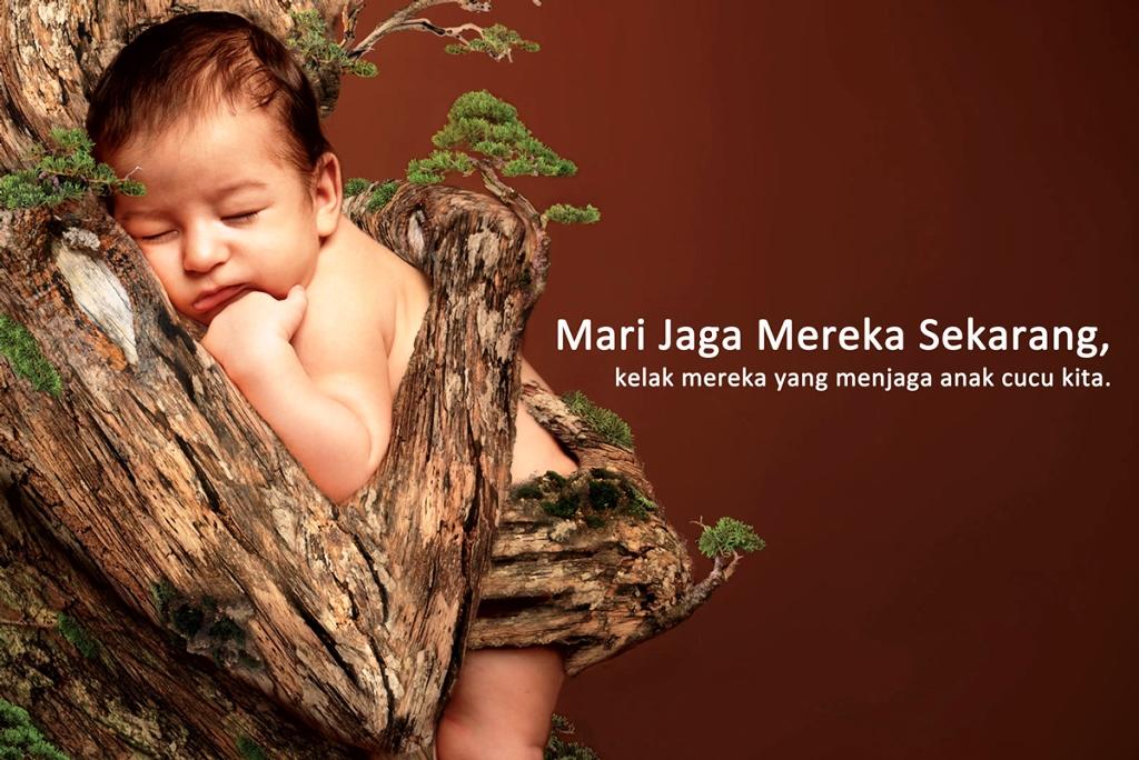 33 Contoh Poster Adiwiyata Go Green Lingkungan Hidup Hijau