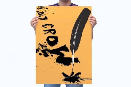 Mencetak Desain Poster yang Berkualitas - contoh desain poster yang bagus 13