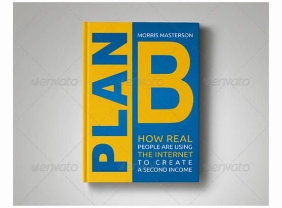 Contoh dan Template Desain Kover Buku Download PSD 18