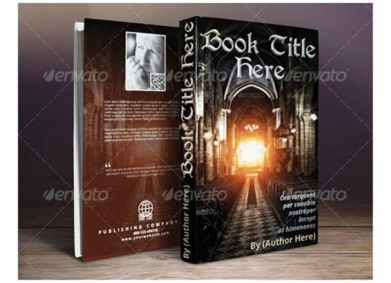 Contoh dan Template Desain Kover Buku Download PSD 22
