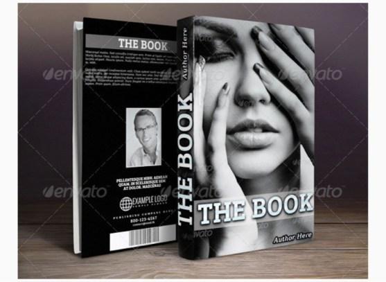 Contoh dan Template Desain Kover Buku Download PSD 25