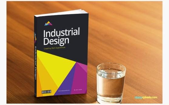Contoh dan Template Desain Kover Buku Download PSD 37