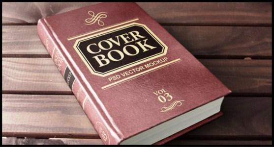 Contoh dan Template Desain Kover Buku Download PSD 45