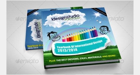 Contoh dan Template Desain Kover Buku Download PSD 50