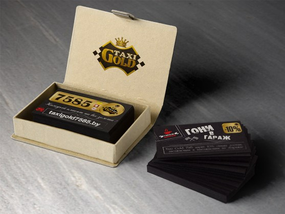Desain Kartu Nama Bisnis Taksi - Kartu Nama Taxi - Card for taxis and cafes