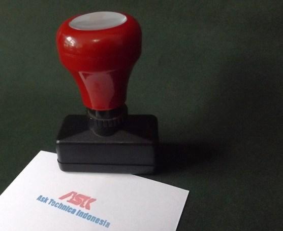 Stempel Otomatis Multi Warna Produk Percetakan Ayu Karawang - Stempel Otomatis DSCF2400