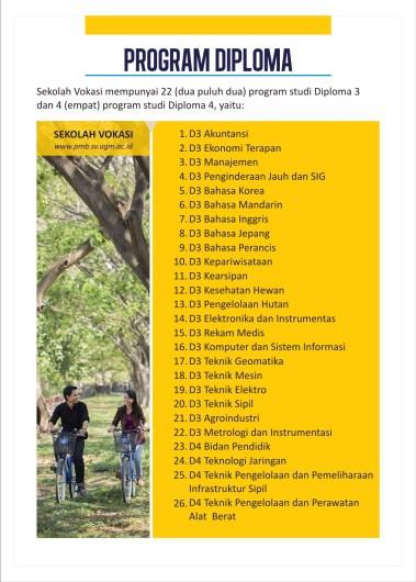 Leaflet UGM 2015 - Desain Brosur Kampus Universitas Terbaik - 2