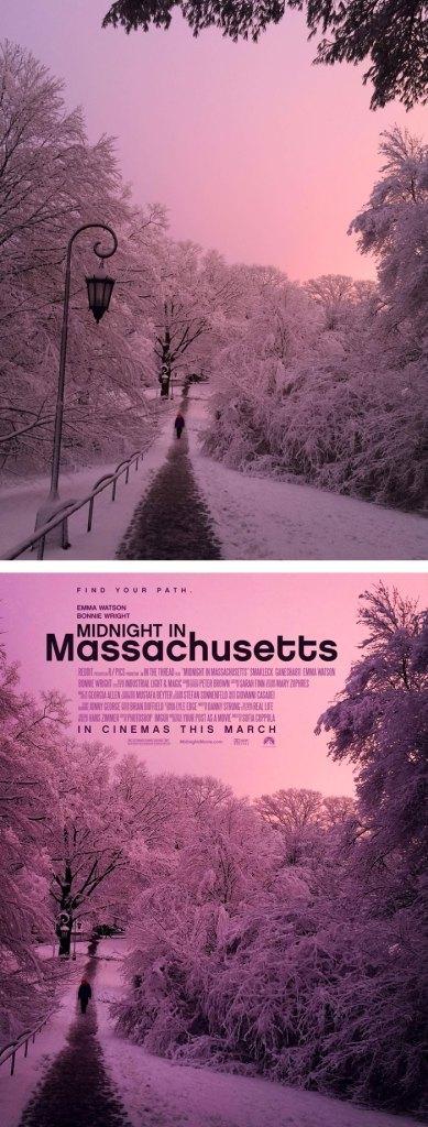 Desain Poster Film dari Foto Biasa 21