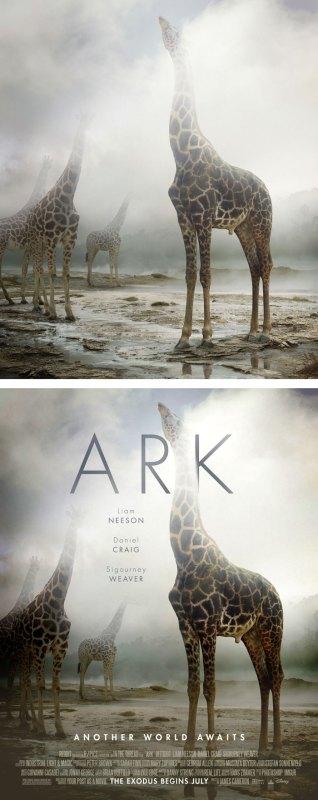 Desain Poster Film dari Foto Biasa 22