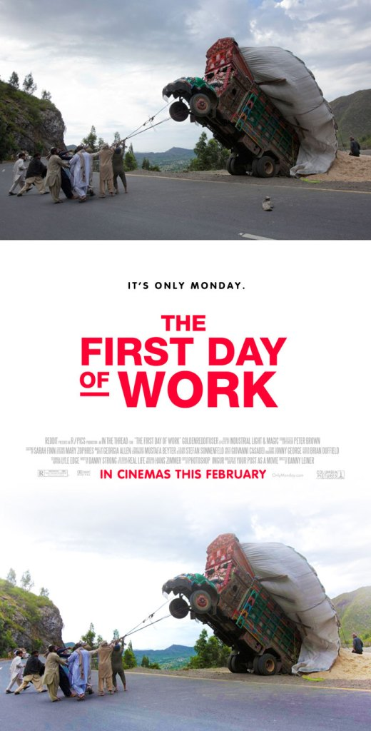Foto Biasa Didesain Menjadi Poster Film