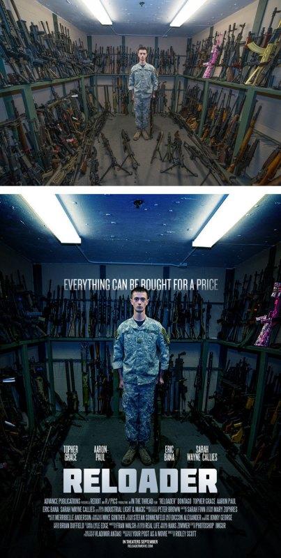 Desain Poster Film dari Foto Biasa 45