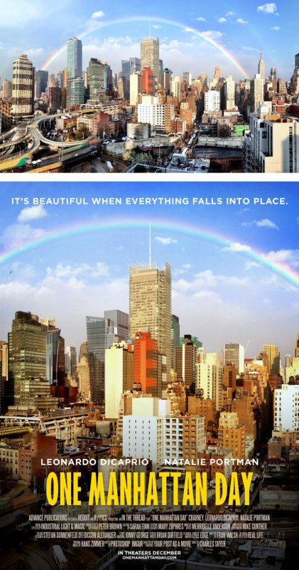 Desain Poster Film dari Foto Biasa 46