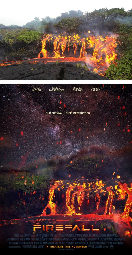 Desain Poster Film dari Foto Biasa 79