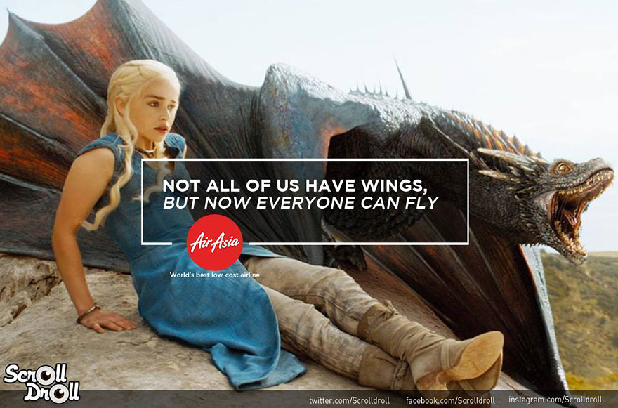 Ketika 7 Brand Terkenal Bersanding dengan Game of Thrones