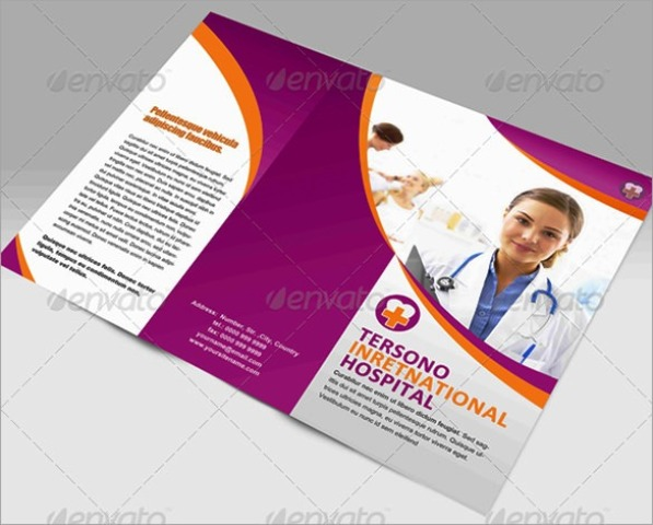 40 Desain Brosur Medis Kesehatan Klinik dan Rumah Sakit