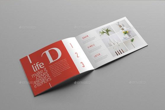 Booklet Template Premium Download 23 Ide Desain Contohnya