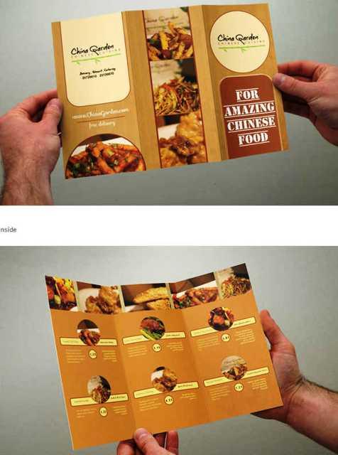 Desain Brosur Restoran