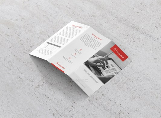 clean-trifold-brochure