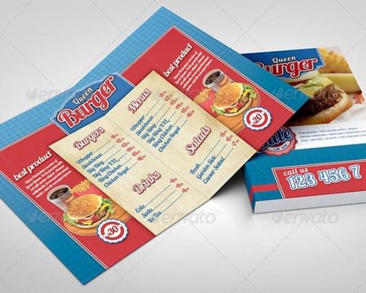 fast-food-brochure-menu