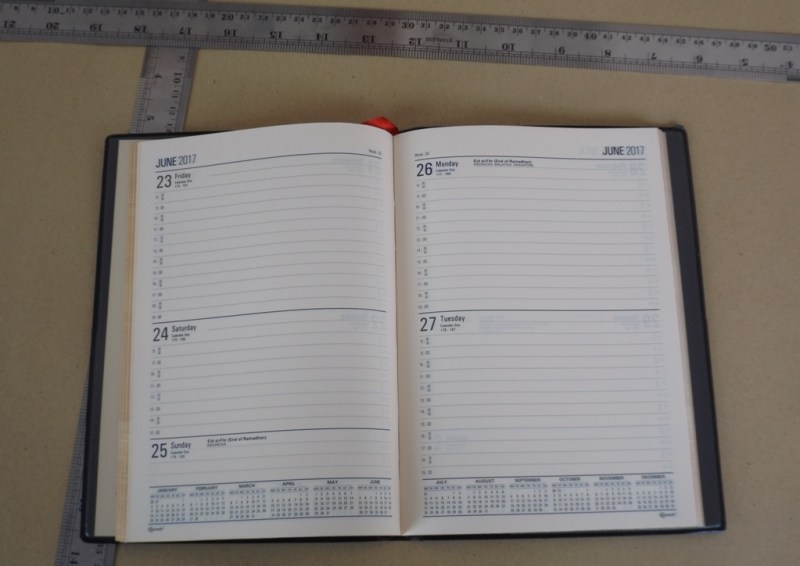 Agenda TH Diary