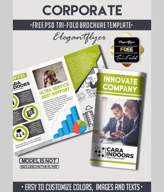 Business Flyer Brochure Templates In Psd 30 Best Designs