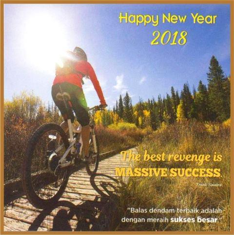 Kalender Eksekutif 2018 Motivasi Inspirasi AO 802 / AO 802-S