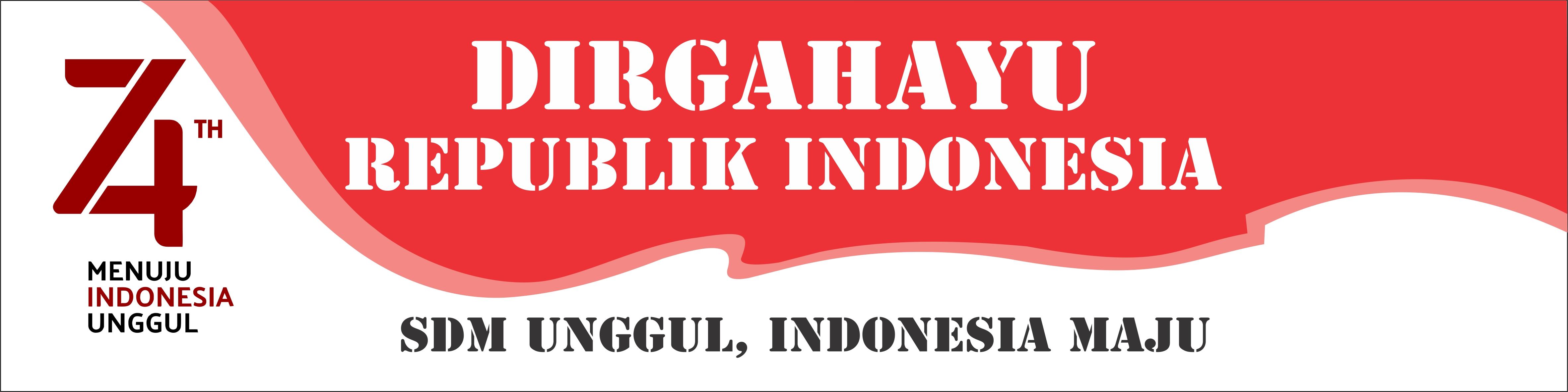 Banner Spanduk HUT RI 17 Agustus