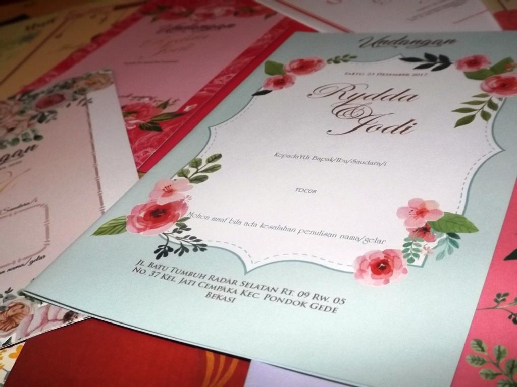 Undangan Pernikahan TDC
