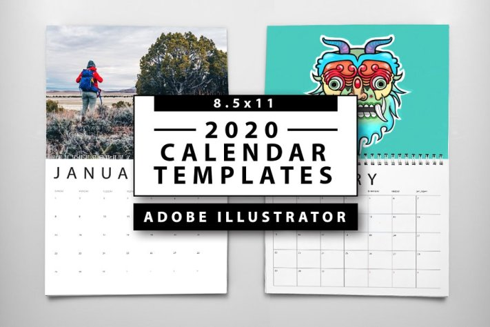 Kalender 2020 Download Free Vector