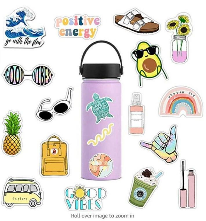 Contoh Desain Sticker