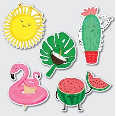 Sticker Warna Populer