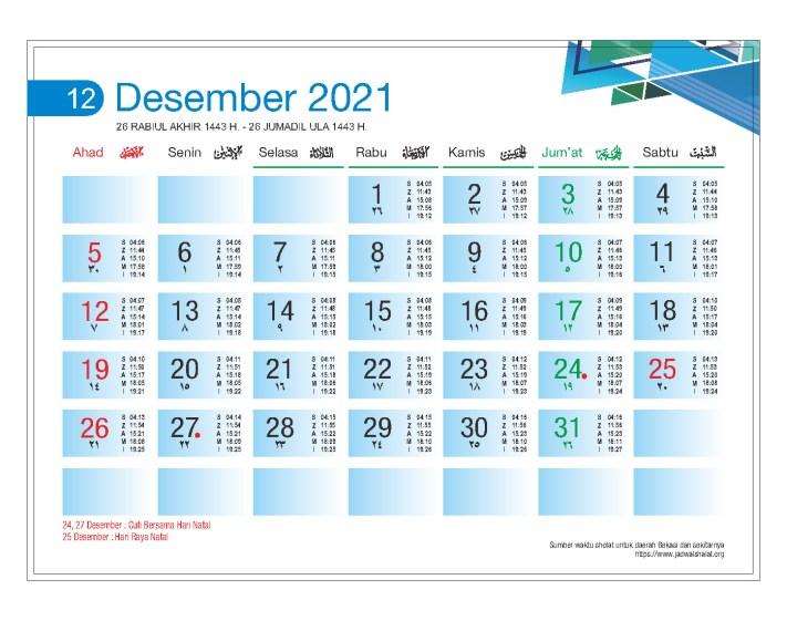 Download Template Kalender Meja 2021 Gratis dan Cara Pencetakannya