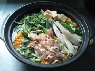 温野菜なべ