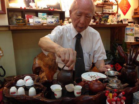 峰圃茶荘のオーナー