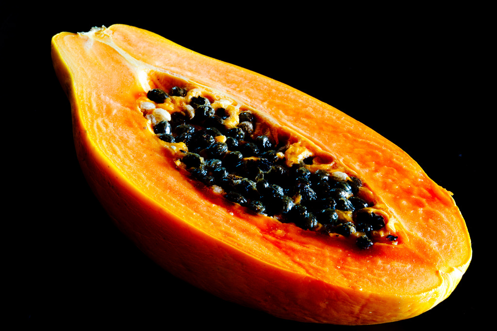 Papaya Image credits: https://www.flickr.com/photos/jariceiii/5782663238/sizes/l