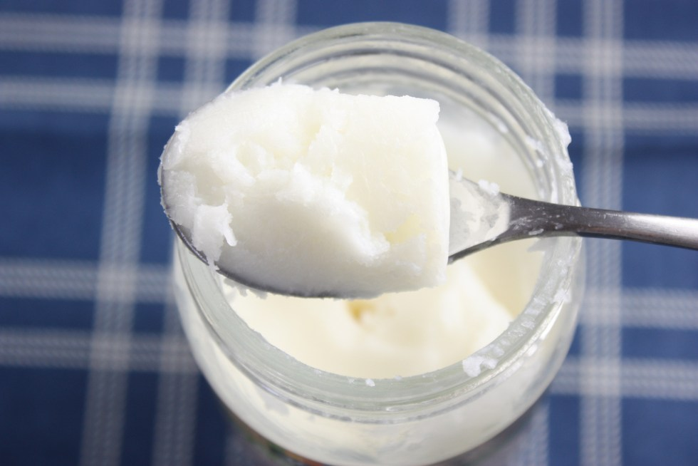 Coconut Oil Image source -- https://www.flickr.com/photos/mealmakeovermoms/7099855287/sizes/l