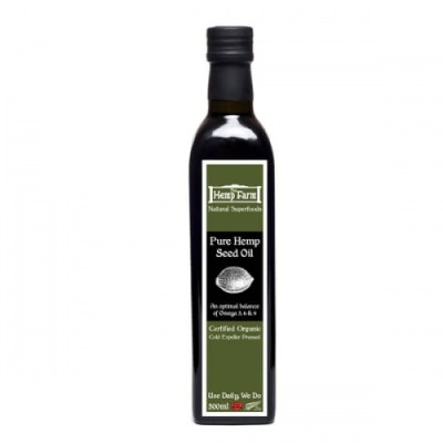 Hemp Farm Hemp Seed Oil 500ml - SKU HFHSO500