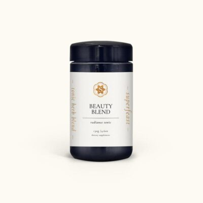 Beauty Blend Radiance Tonic 130g in Mron Glass by SuperFeast