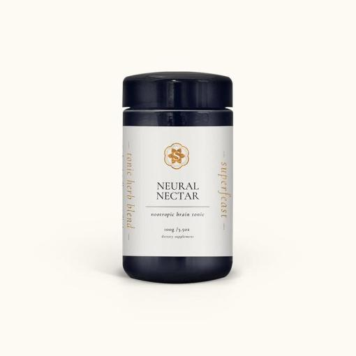 Neural Nectar Brain Tonic 100g in Miron Glass by SuperFeast