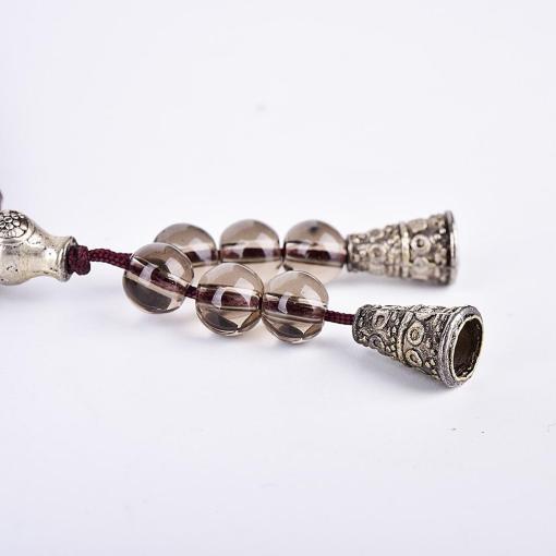 Bracelet Mala Tibétain bicolore avec 2 clochettes