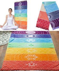 Tapis de Méditation 7 chakras