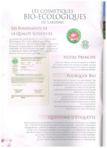 Charte lakshmi