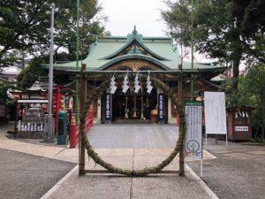 須賀神社 夏越の大祓 茅の輪くぐり