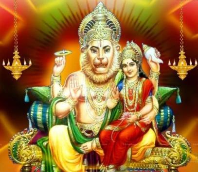 A serene Narasimha